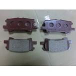 04-09 RX330 RX350 RX400h Rear Brake Pad Set