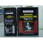 TOYOTA AUTOMATIC TRANSMISSION FLUID(ATF) TYPE: T-IV
