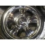 """19"""" Chrome BMW VW T5 T6 Toyota Hyundai 5x120 5x114.3 Alloy Wheel (COMPLETE SET)"""