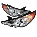 2013 Hyundai Sonata Head Light Lamp Complete Set