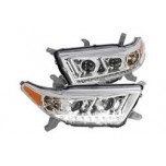 2012-2013 Toyota Highlander Headlight (New)