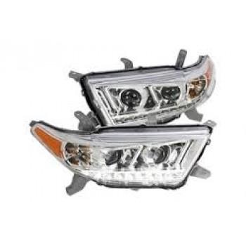 2012-2013 Toyota Highlander Headlight (New)
