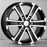 16 INCH CHROME ALLOY WHEEL (COMPLETE SET)