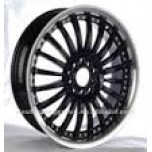 17 INCH CHROME ALLOY WHEEL (COMPLETE SET)