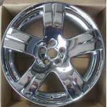 19 inch Chrome BENTLEY alloy wheel (COMPLETE SET)