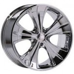 "19"" Axe AP31 Chrome Alloy Wheels Staggered mercedes (COMPLETE SET)"
