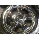 "19"" Chrome BMW VW T5 T6 Toyota Hyundai 5x120 5x114.3 Alloy Wheel (COMPLETE SET)"