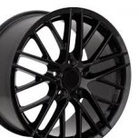 19 inch black chrome alloy wheel (COMPLETE SET)